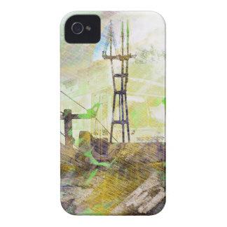 Vida AKA San Francisco Pho gemelo eléctrico de iPhone 4 Fundas