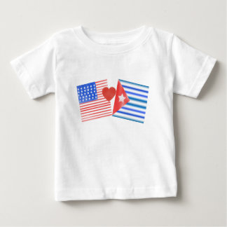 Vida americano, corazón cubano t shirt