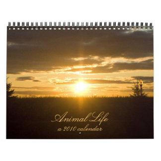 Vida animal 2010 calendarios