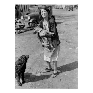Vida áspera, 1940 póster