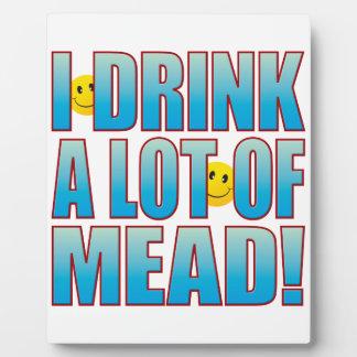 Vida B de la aguamiel de la bebida Placa De Madera