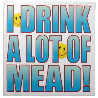 Vida B de la aguamiel de la bebida Servilleta Imprimida