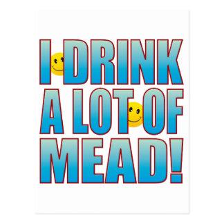Vida B de la aguamiel de la bebida Tarjetas Postales