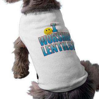Vida B de las lentejas de la adoración Playera Sin Mangas Para Perro