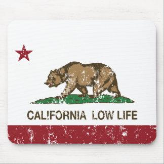 Vida baja de California Tapetes De Raton