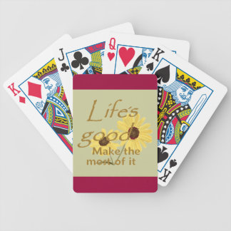 Vida buena baraja de cartas