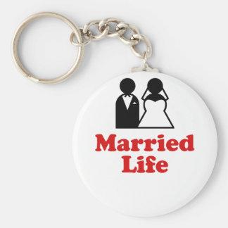 Vida casada llavero