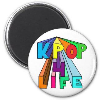 VIDA colorida de KPOP 4 Iman Para Frigorífico