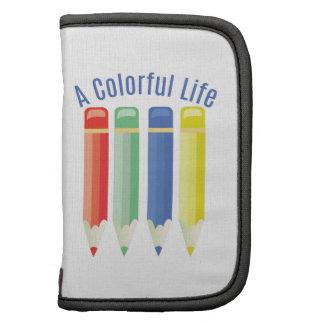 Vida colorida planificador