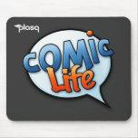Vida cómica Mousepad Alfombrillas De Ratón