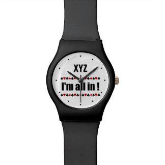 VIDA COMO los relojes de encargo del PÓKER