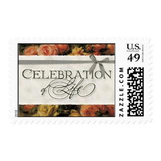 Vida coralina impresionista de la celebración del sello postal
