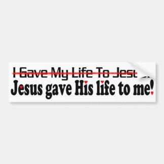 vida de 00 Jesuses Pegatina Para Auto