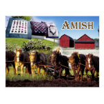 Vida de Amish en Lancaster, Pennsylvania Postal