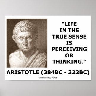 Vida de Aristóteles en el sentido verdadero que pe Posters