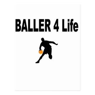 Vida de Baller 4 Tarjetas Postales
