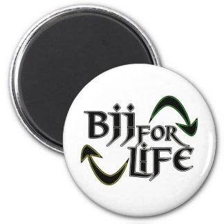 Vida de BJJ 4 Imán Redondo 5 Cm