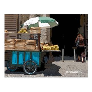 Vida de cada día en la calle de Jerusalén Tarjetas Postales