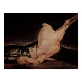Vida de Francisco todavía Goya-, pavo desplumado,  Tarjetas Postales