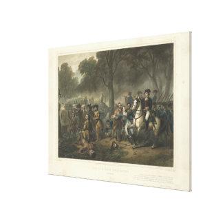 Vida de George Washington el soldado por Stearns Lienzo Envuelto Para Galerias