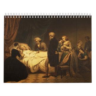 Vida de George Washington la muerte cristiana Calendarios