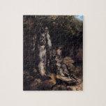 Vida de Gustavo todavía Courbet- con la trucha tre Rompecabeza Con Fotos