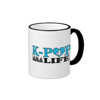 VIDA DE K-POP 4 TAZAS DE CAFÉ