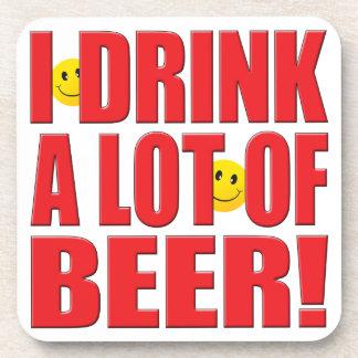 Vida de la cerveza de la bebida posavasos