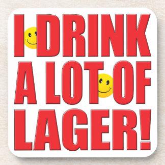 Vida de la cerveza dorada de la bebida posavasos de bebidas