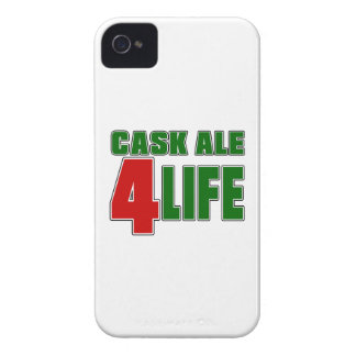 Vida de la CERVEZA INGLESA 4 del BARRIL iPhone 4 Case-Mate Cobertura