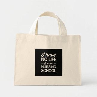Vida de la escuela de enfermería bolsa tela pequeña