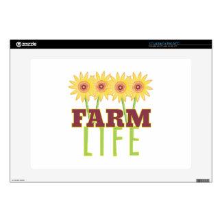 Vida de la granja calcomanías para 38,1cm portátiles