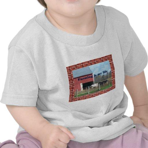 vida de la granja camisetas