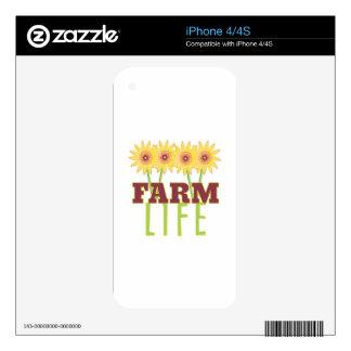 Vida de la granja iPhone 4 skin