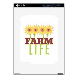 Vida de la granja pegatina skin para iPad 3