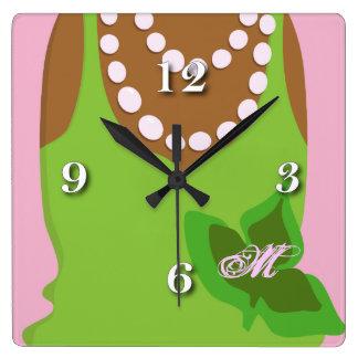 Vida de la hermandad de mujeres reloj cuadrado