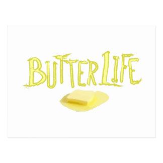 Vida de la mantequilla postal