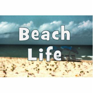 vida de la playa con la playa umbrella jpg de la s esculturas fotográficas