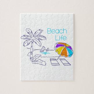 Vida de la playa puzzle