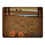 Vida de la playa tarjetas postales