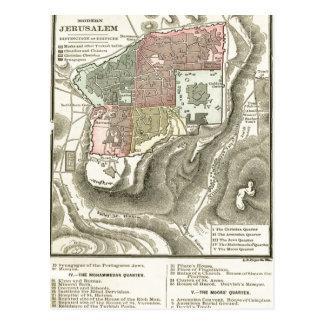 Vida de la postal del mapa del prefacio de Cristo
