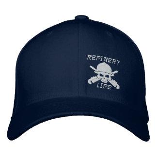 Vida de la refinería - frente solamente (costura gorras de béisbol bordadas