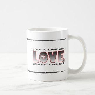 Vida de la taza del amor