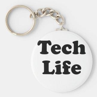 Vida de la tecnología llavero