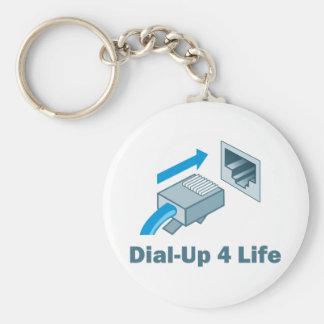 Vida de la terminal de marcado manual 4 llaveros personalizados
