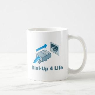 Vida de la terminal de marcado manual 4 taza