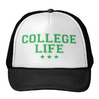 Vida de la universidad - verde gorro