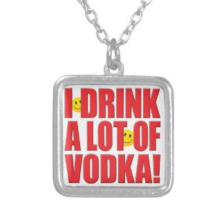 Vida de la vodka de la bebida joyerías