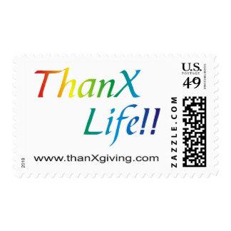 ¡Vida de las gracias!!! Sellos Postales