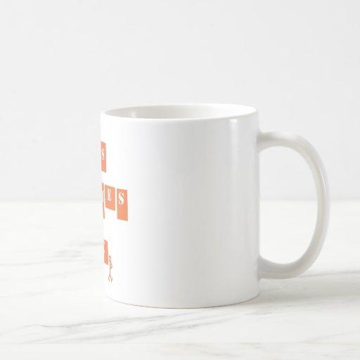 Vida de las rimas de los golpes taza de café